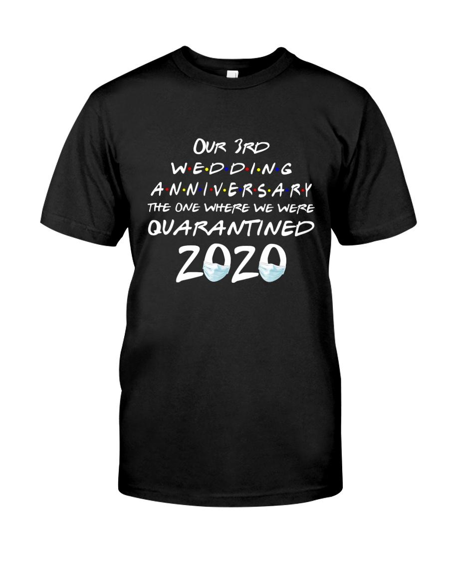3rd Wedding anniversary Classic T-Shirt