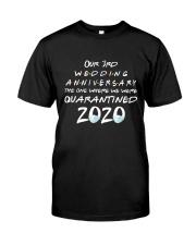 3rd Wedding anniversary Classic T-Shirt front