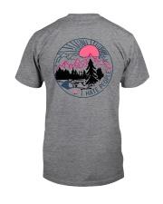 Camping Flamingo Eff you see kay Classic T-Shirt back
