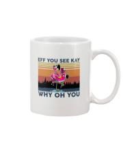 Camping Flamingo Eff you see kay Mug thumbnail