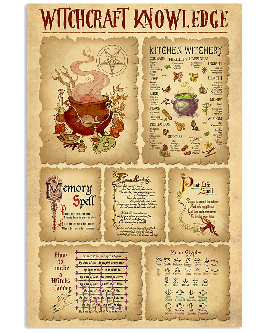 Witchcraft Knowledge 11x17 Poster