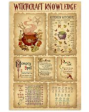 Witchcraft Knowledge 11x17 Poster front