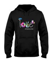 Paragliding Need Love Peace Hooded Sweatshirt thumbnail
