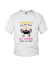 Kindergarten We are done Youth T-Shirt front