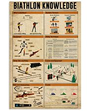 Biathlon Knowledge 11x17 Poster front