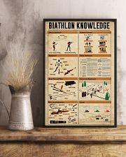 Biathlon Knowledge 11x17 Poster lifestyle-poster-3