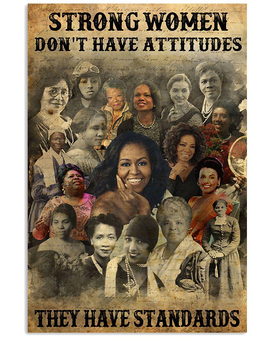 Strong Women poster 11x17 Poster