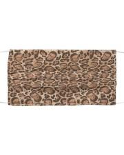 RBG leopard dress Cloth face mask thumbnail