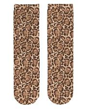 RBG leopard dress Crew Length Socks thumbnail
