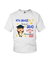 4th grade Virtual grad Youth T-Shirt front