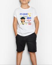 4th grade Virtual grad Youth T-Shirt lifestyle-youth-tshirt-front-1