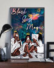 Black Girl Magic 11x17 Poster lifestyle-poster-2