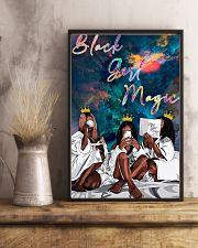 Black Girl Magic 11x17 Poster lifestyle-poster-3