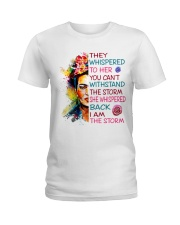 Frida Kahlo they whispered Ladies T-Shirt thumbnail