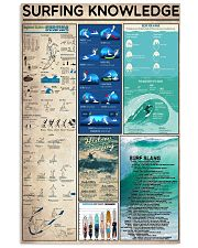 Surfing Knowledge  11x17 Poster front