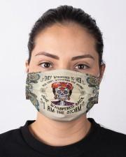 Frida Kahlo whispered mandala Cloth face mask aos-face-mask-lifestyle-01