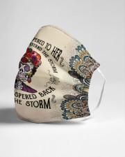 Frida Kahlo whispered mandala Cloth face mask aos-face-mask-lifestyle-21