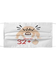 33 You're year old Cloth face mask thumbnail