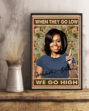 They Go Low We Go High 11x17 Poster lifestyle-poster-3