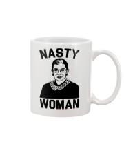 RBG nasty woman pattern Mug thumbnail