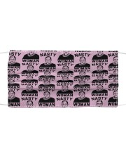 RBG nasty woman pattern Cloth face mask front