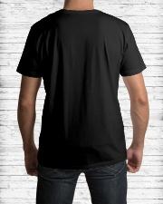 Dad Hero Love Billiards Classic T-Shirt lifestyle-mens-crewneck-back-1