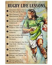 Rugby Life lessons 11x17 Poster front