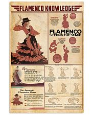 Flamenco knowledge 11x17 Poster front