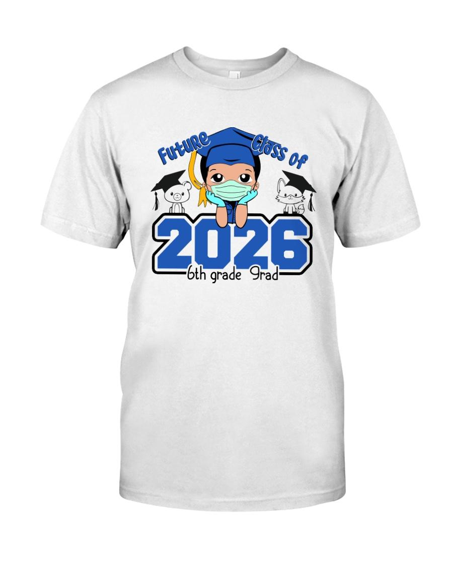 White Boy 6th grade Future grad Classic T-Shirt