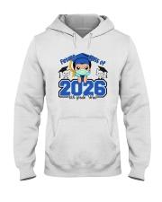 White Boy 6th grade Future grad Hooded Sweatshirt thumbnail