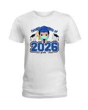 White Boy 6th grade Future grad Ladies T-Shirt thumbnail