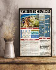 Wakesurfing Knowledge 11x17 Poster lifestyle-poster-3