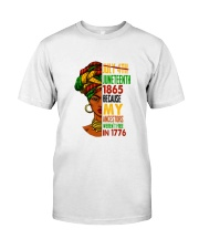 Woman Juneteenth Day 2 Classic T-Shirt front