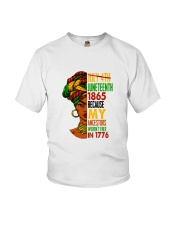 Woman Juneteenth Day 2 Youth T-Shirt thumbnail