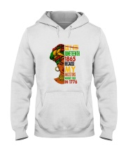 Woman Juneteenth Day 2 Hooded Sweatshirt thumbnail
