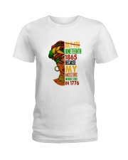 Woman Juneteenth Day 2 Ladies T-Shirt thumbnail