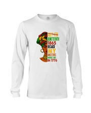 Woman Juneteenth Day 2 Long Sleeve Tee thumbnail