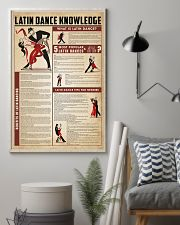 Latin dance knowledge 11x17 Poster lifestyle-poster-1