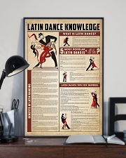 Latin dance knowledge 11x17 Poster lifestyle-poster-2