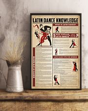 Latin dance knowledge 11x17 Poster lifestyle-poster-3