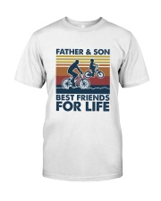 Cycling Dad Son Classic T-Shirt front