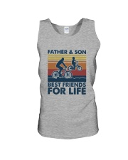 Cycling Dad Son Unisex Tank thumbnail