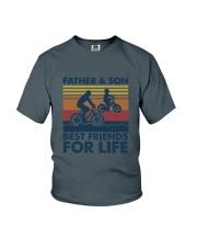 Cycling Dad Son Youth T-Shirt thumbnail