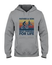 Cycling Dad Son Hooded Sweatshirt thumbnail