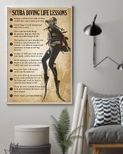 Scuba Diving Life Lessons 11x17 Poster lifestyle-poster-1