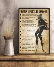 Scuba Diving Life Lessons 11x17 Poster lifestyle-poster-3
