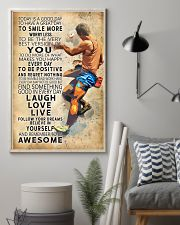 Bouldering Today Is A Good Day 11x17 Poster lifestyle-poster-1