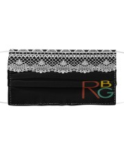 RBG vintage lace Cloth face mask thumbnail