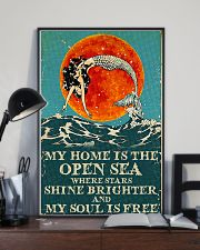 The open sea 11x17 Poster lifestyle-poster-2