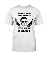RBG fight pattern mug Classic T-Shirt thumbnail